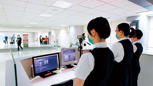 機場發燒篩檢,立刻篩出可疑病例,是防疫把關工作最重要的第一關。