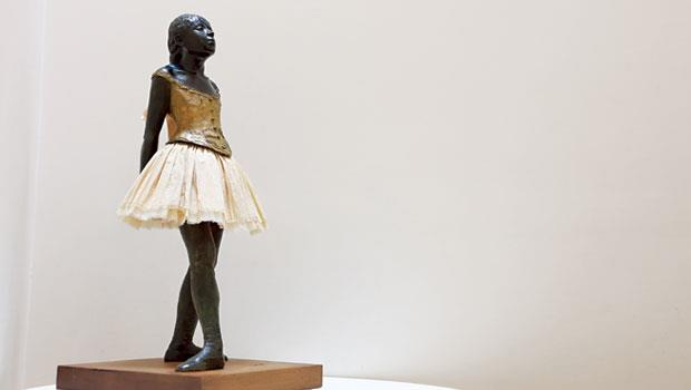 竇加 雕塑作品《14歲的小舞者》