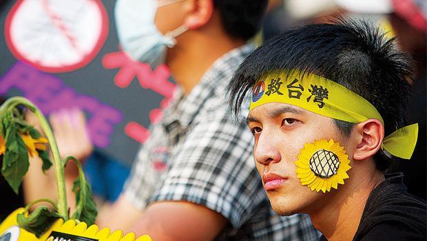 年輕人要抗爭是嗎?去爭取台灣的國際地位才是真正「公平正義」