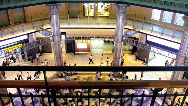 車站大廳view