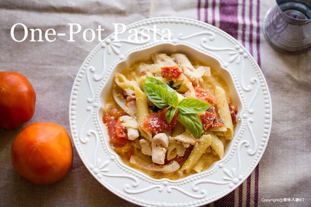不只可以煮番茄飯!用「電鍋」就能做出奶油雞肉筆管麵 - 商業周刊