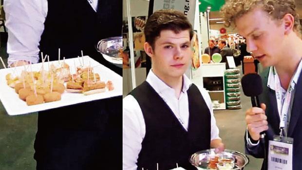 眼見不見得為憑!兩個荷蘭人(右圖)證明,速食餐點經過包裝和行銷後(左圖),也能以有機之名騙過專家法眼。
