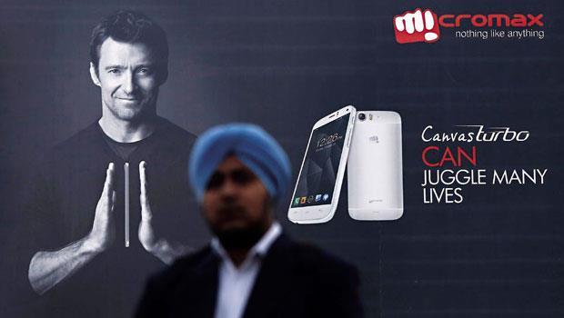 印度手機Micromax去年重金請來「金鋼狼」休.傑克曼代言的Canvas Turbo手機,主打吹氣就能解鎖的新功能。