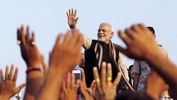 莫迪執政的多頭行情,將帶領印度經濟表現超越其他金磚國。