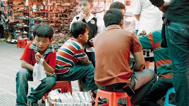 柬埔寨的孩子