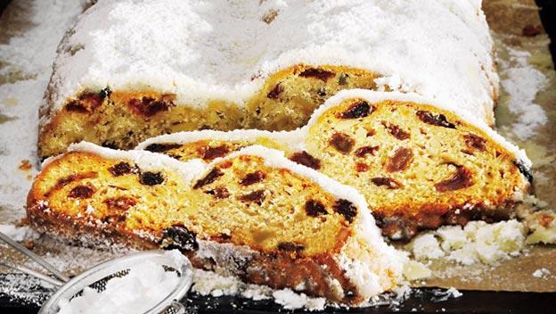 撒上雪白的糖霜,象徵雪地裡出生的耶穌,是德國慶祝耶誕節不可缺少的重要角色。