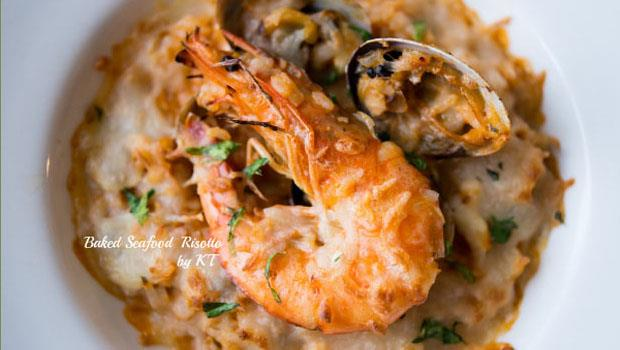 15分鐘做出「義大利海鮮焗飯」,快速料理的小技巧就是....