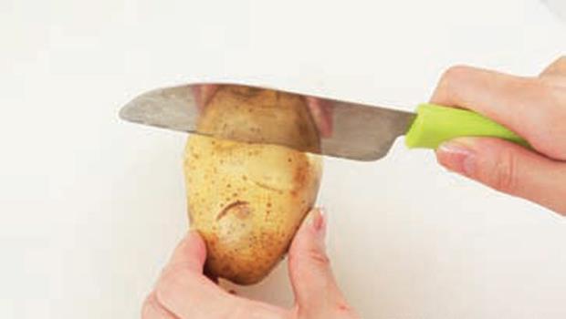 馬鈴薯、洋蔥、蔥絲》如何快速備料?3步驟搞定難搞食材!