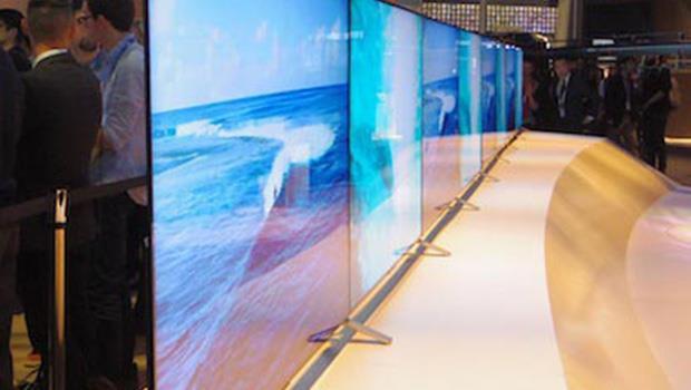 日本研究:未來電視厚度不到0.5吋,「比手機還薄」!
