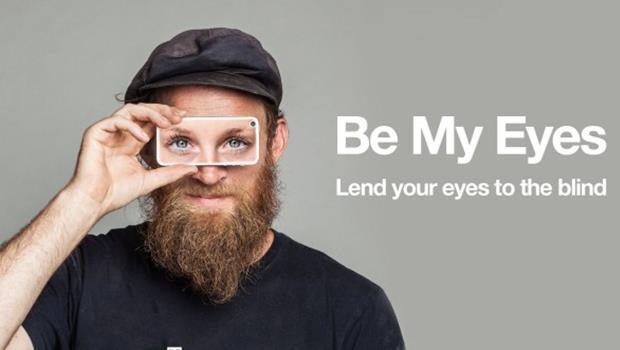 別再說「鍵盤愛心」只有嘴砲》透過這款App,你馬上就能成為盲人的「眼」!