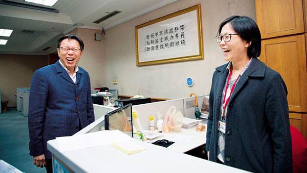 台北市市長辦公室主任:蔡璧如
