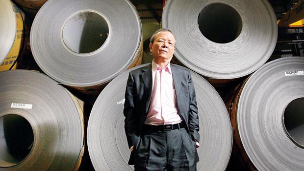 大成鋼、大國鋼總經理:謝榮坤