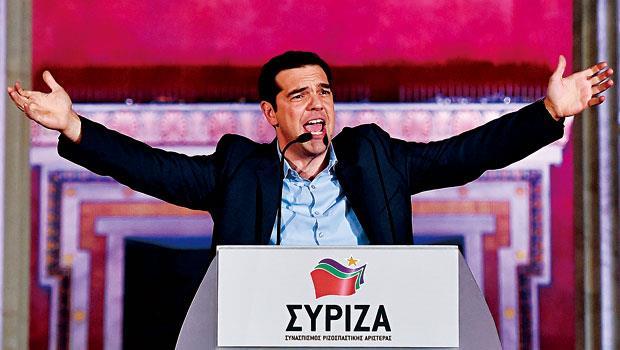 希臘反撙節政黨選舉大勝,歐債危機陰影再現,歐元區再度面臨轉捩點。
