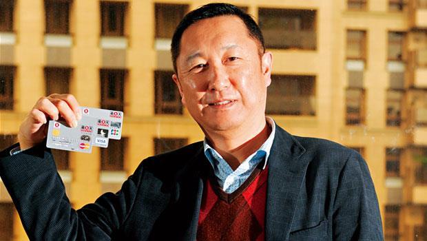 樂天副社長穗坂雅之,要用信用卡擴張在台版圖。
