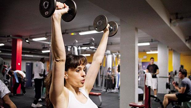 低價健身房沒有三溫暖、點心吧等設施,以講究專業功能取勝。