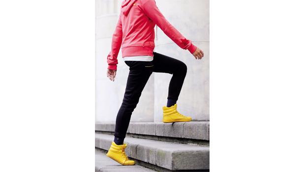 爬樓梯 保膝用對肌