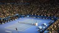 一場網球賽,我聽到電視台的喪鐘已經哀然響起