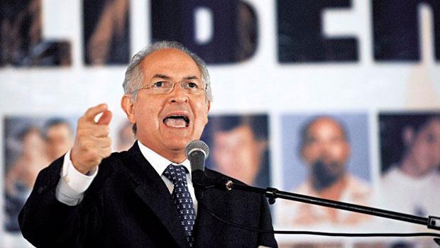 委內瑞拉76個反對黨市長,有33個目前正面臨審判,雷德茲瑪也是之一。