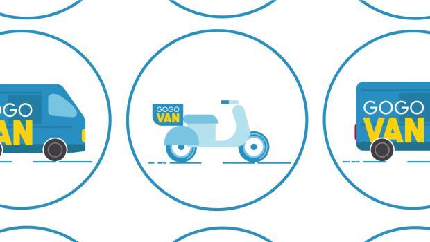 超「機車」!Uber載人,「GoGoVan」專人騎車幫你載東西