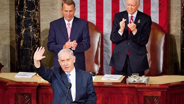 內塔尼亞胡在美國國會演講,批評美國與伊朗核武協議是「爛交易」,遭到歐巴馬冷處理。