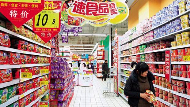 中國零售業市場走衰,最大綜合賣場大潤發、食品股統一中控,股價都很難看。