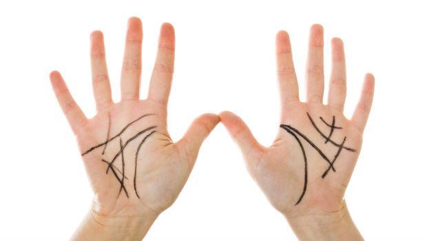 女中醫師教你從「掌紋」看健康:生命線結束的位置,決定你的五臟病變