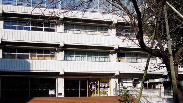 千代田3331美術館原是一間名為「練成中學」的學校