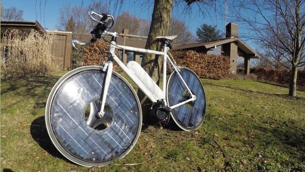 單車界最厲害Solar Bike!丹麥開發這款「太陽能電動單車」,免充電更快更環保