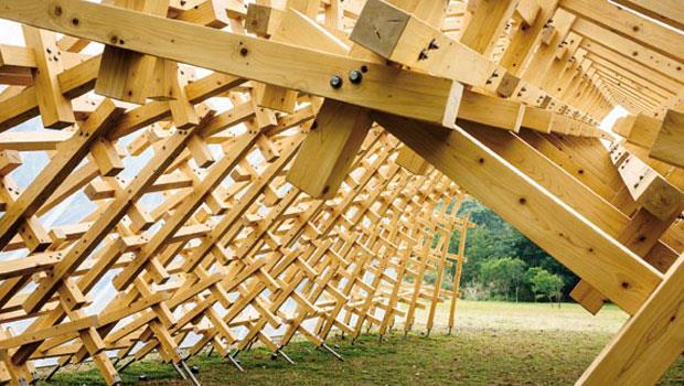建築大師-隈研吾的作品「風檐」