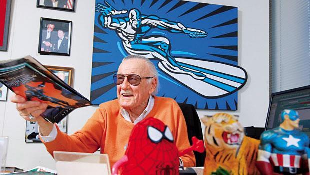 美國漫畫英雄之父-史丹.李(Stan Lee)