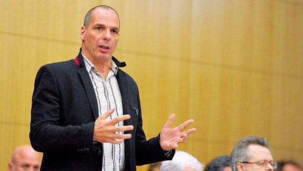 「不是『歐洲的問題是希臘』,而是『希臘的問題是歐洲』。」瓦魯費克斯如此詮釋希臘問題的根源。