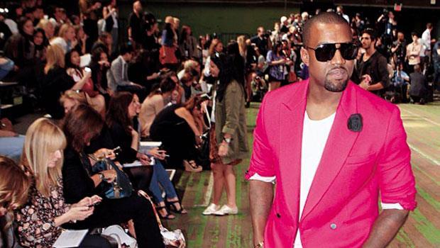 威斯特(右)的穿衣品味偶引爭議,但破框風格頗獲精品業者青睞。