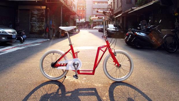 25歲台灣設計師贏得國際大獎》有了這台單車,女生穿裙子也可以安心騎!