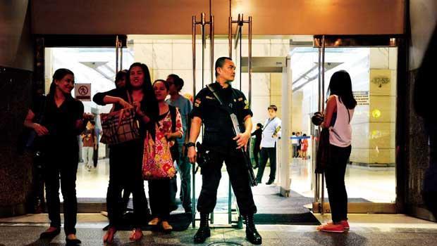馬尼拉治安排名全球大都市後段班