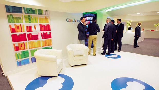 Google員工休息區