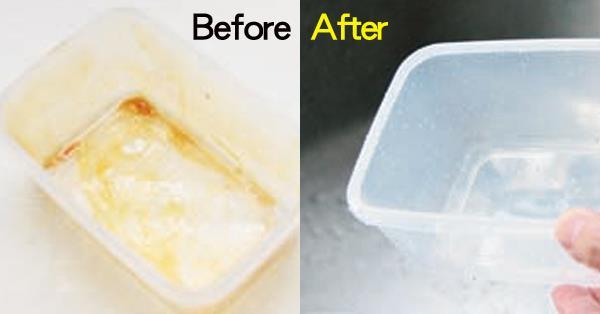 洗碗精也清不乾淨的保鮮盒,該怎麼去油污?家事達人:用●●就搞定!