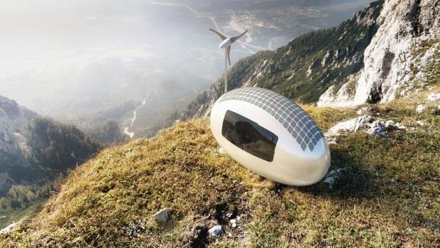 好酷!靠再生能源就能自給自足,這個「能旅行的膠囊小屋」改變了未來露營的方式 - 商業周刊