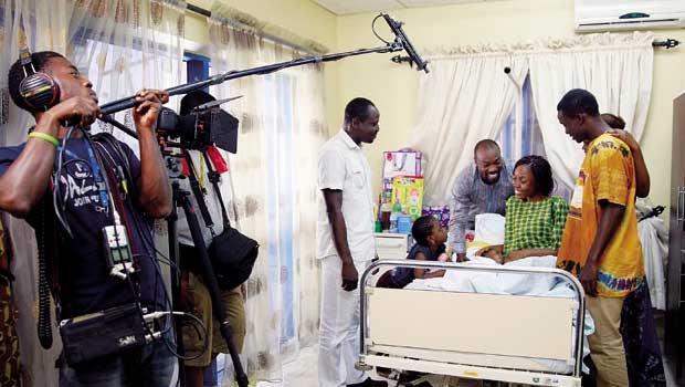 奈及利亞1年發行的電影超過2千部,讓影音串流服務商看好線上市場。