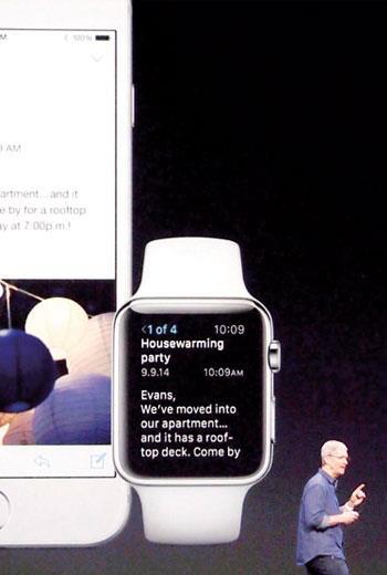 Apple Watch 讓庫克第一堂創新課成績很難看,現在只能推新色、等耶誕節買氣回升扳回一城了。