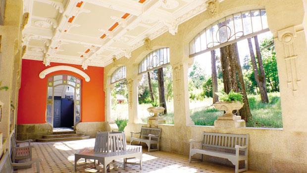 1910年首度開放的Vidago旅館,2010年整建後仍保留珍貴的歷史。
