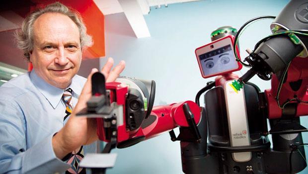 Rethink Robotics 創辦人兼董事長布魯克斯