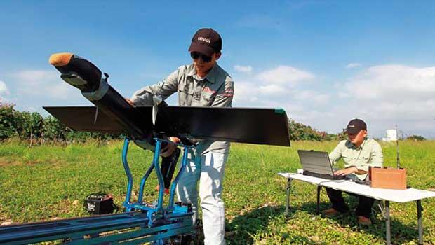 碳基的專業用無人機