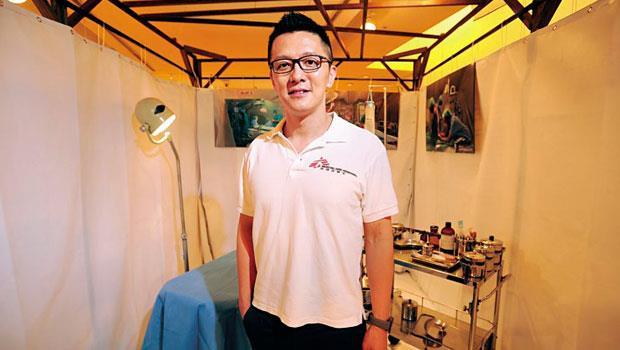 無國界醫生香港董事會主席、麻醉科醫師劉鎮鯤