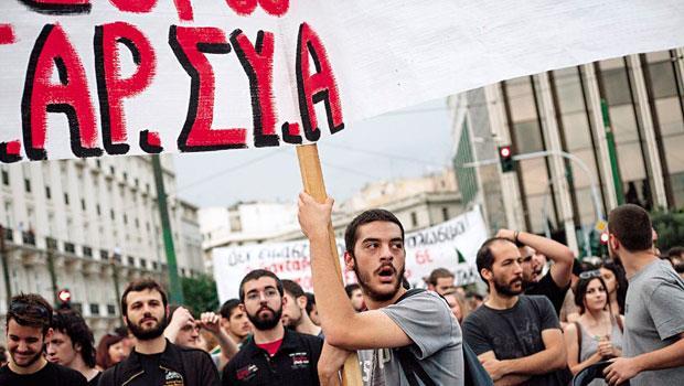 希臘民眾想要歐元,又不想再勒緊褲帶,它與歐盟的基本矛盾已不可調和。