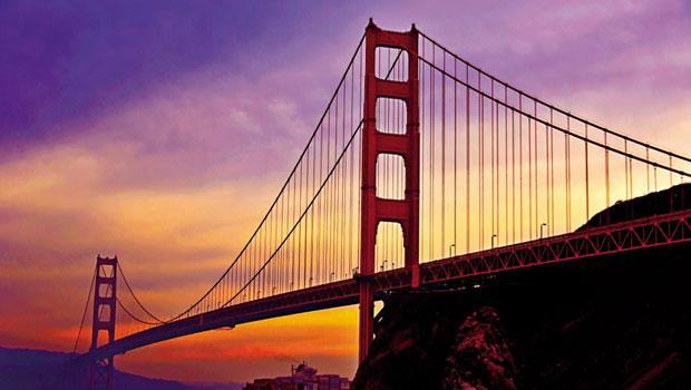 美國舊金山的金門大橋