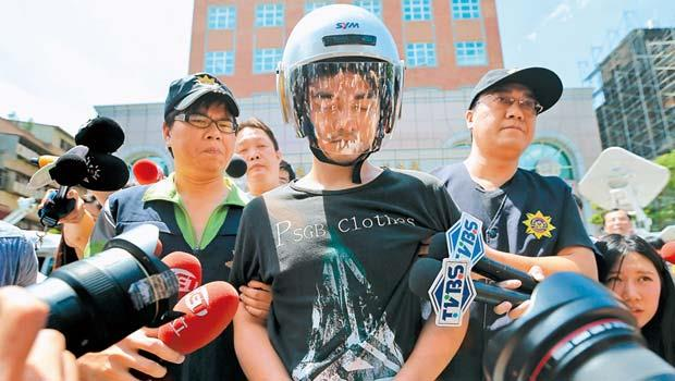 台灣近年頻傳隨機殺人事件。(圖中為7月捷運殺傷事件犯案人郭彥君)