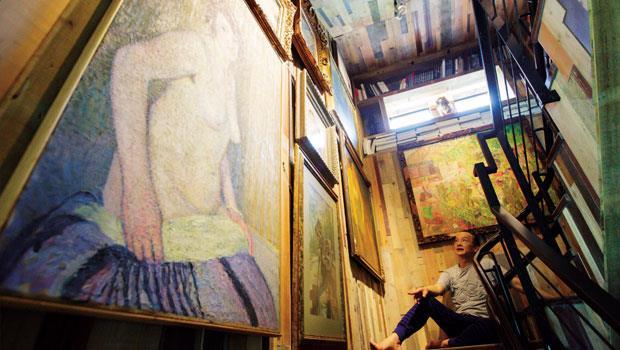 與藝術大師們一同過日子,姚謙的生活多麼讓人羨慕!
