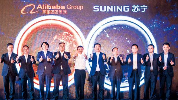 O2O 的威力,讓中國最大家電通路蘇寧電器願意為它轉向與競爭對手阿里巴巴合作,成為其網購體系的一分子。