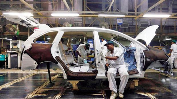 印度邁向製造業大國,目標10 年汽車產出要翻4 倍。