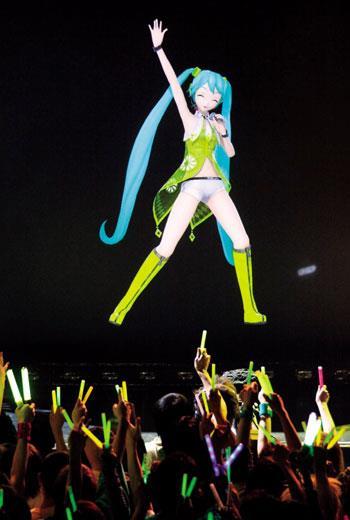 日本最紅虛擬歌手初音,年創20億周邊商機